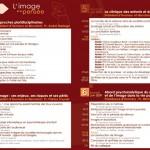 Programme du colloque Image et Pensée - PRINT